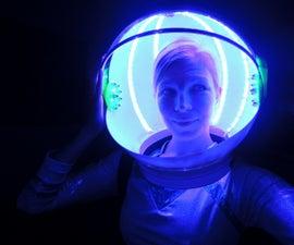 LED Space Helmet