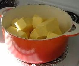 Easy Margarine Soap!