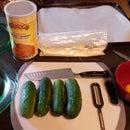 Cucumber Meets Oven