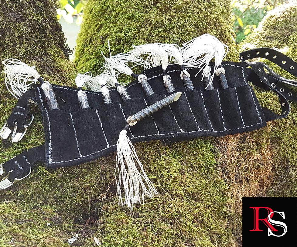 Picture of Ninja Rebar Shuriken With Leg Sheath - Maker Collab Pt.2