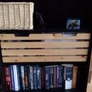 Ikea bookshelf storage box (feat. cat silhouette)