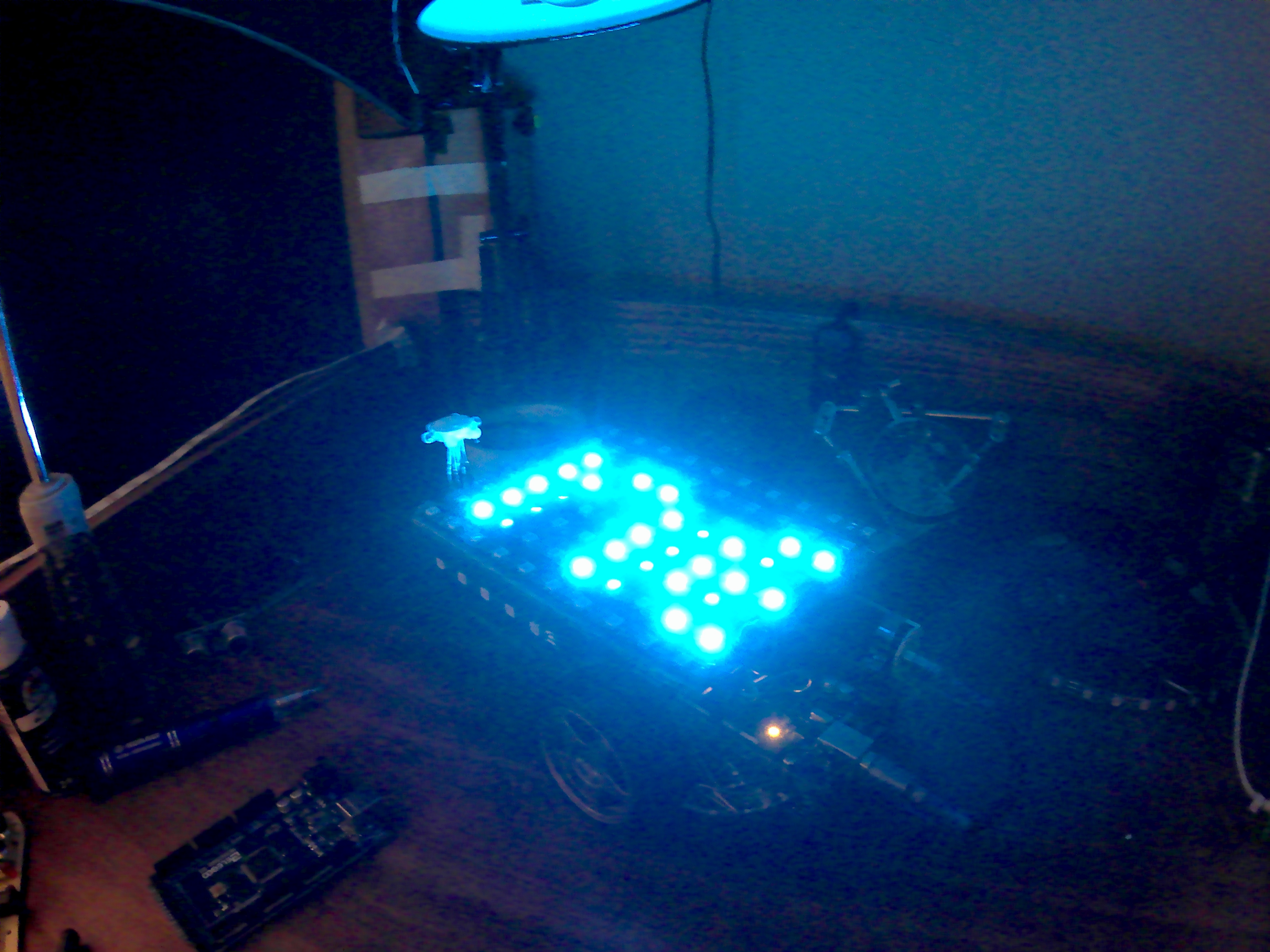 Picture of ROB: the Ultimate R/C NeoPixel/WS2812B LED Display Platform