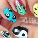 Magic Eight Ball Nail Art Tutorial