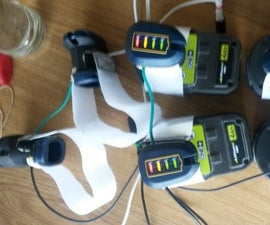 Using powertool batteries as a generic power supply for other projects