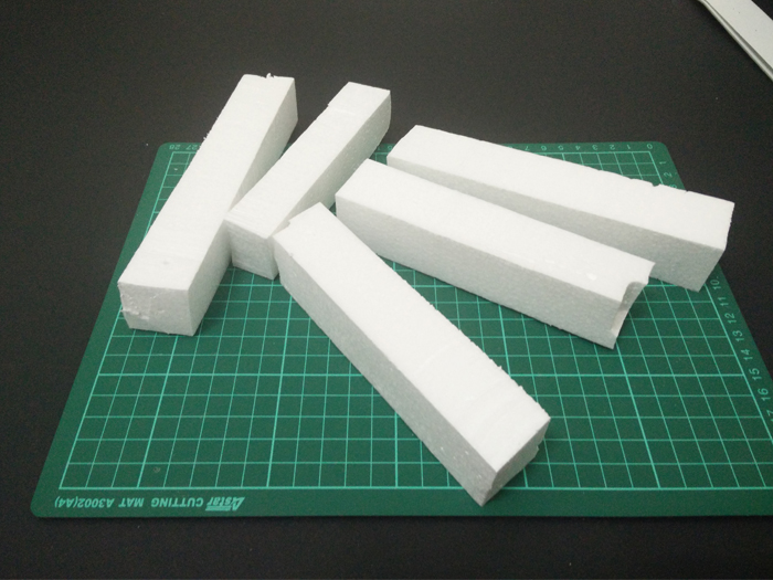 Picture of Cut the Polystyrene