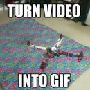 Turn a Video into GIF and control it's Speed