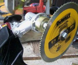 杂草修剪机的刷子刀片