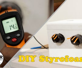 DIY Portable Styrofoam Air Conditioner