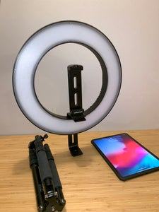 Attach the Ring Light