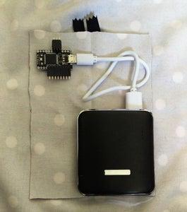 Make Pocket for Power Pack