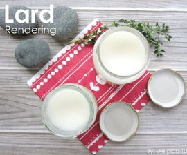 Rendering Your Own Lard at Home