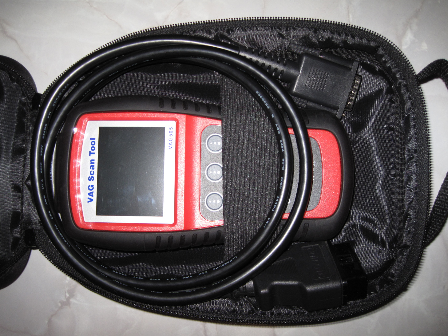 Picture of Bosch LSU Wideband AFR Sensor Testing - Scan Tool and Multimeter