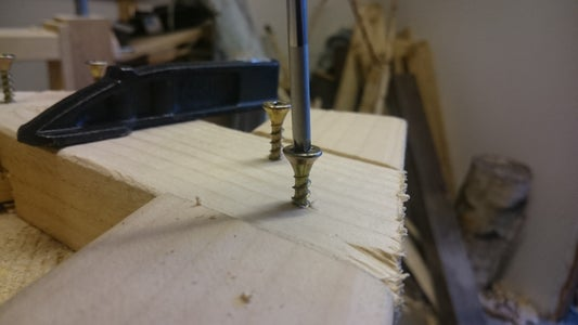 Drilling, Gluing and Screwing