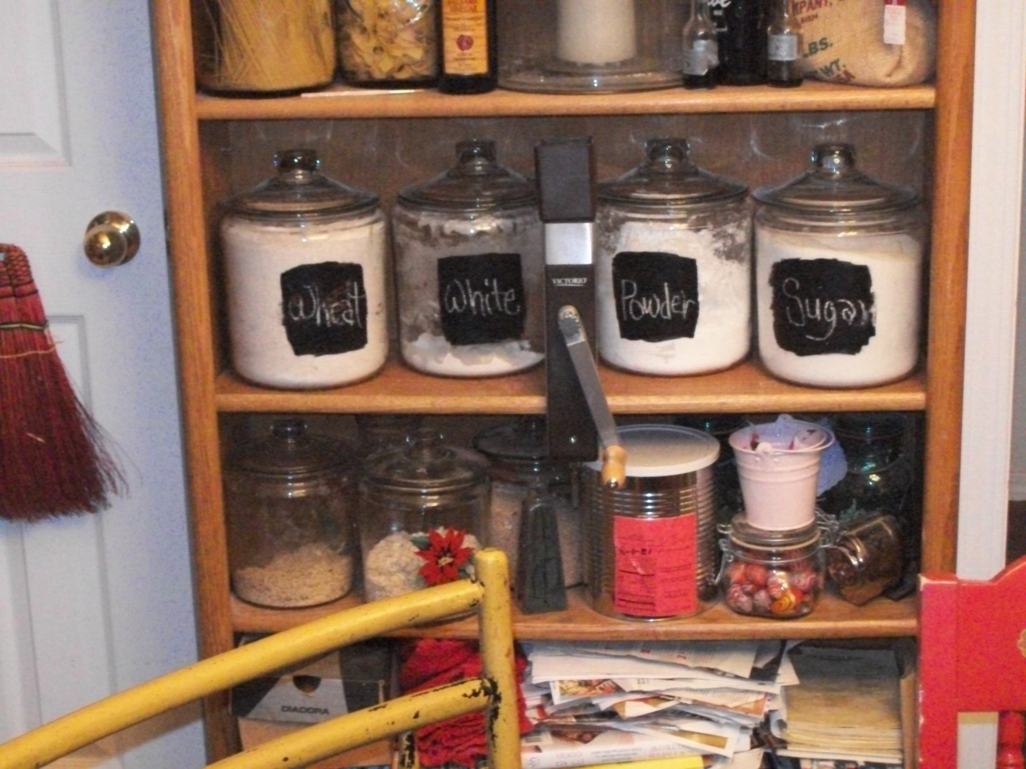 Picture of Simple Glass Canister Repurpose