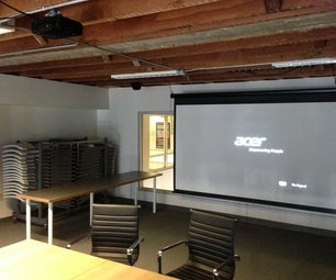 How to Use the Conference Room Projector at TechShop San Francisco