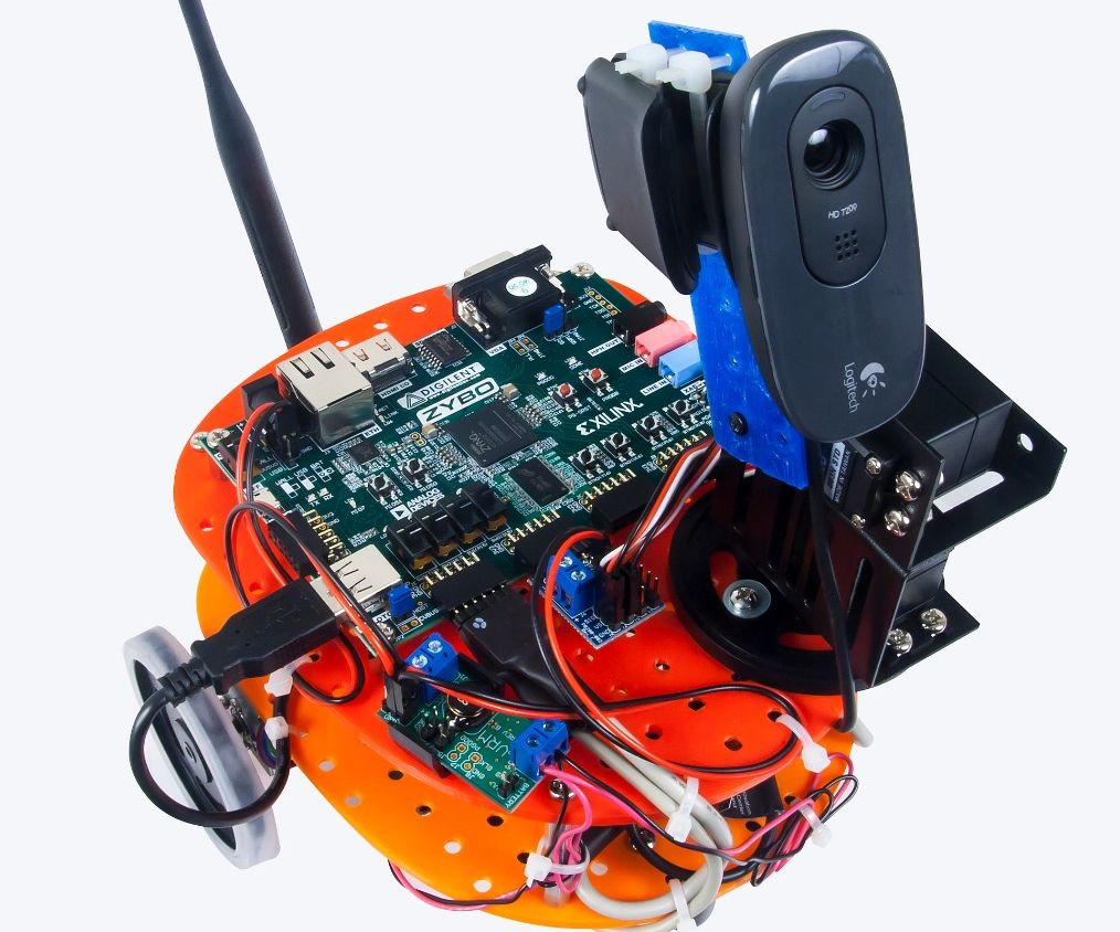 Picture of Setting Up the Zybot - Software Version 2