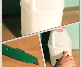 How to Make a Trowel From a Plastic Jug! #Lifehack #Ludvic