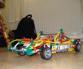 K'nex convertible car