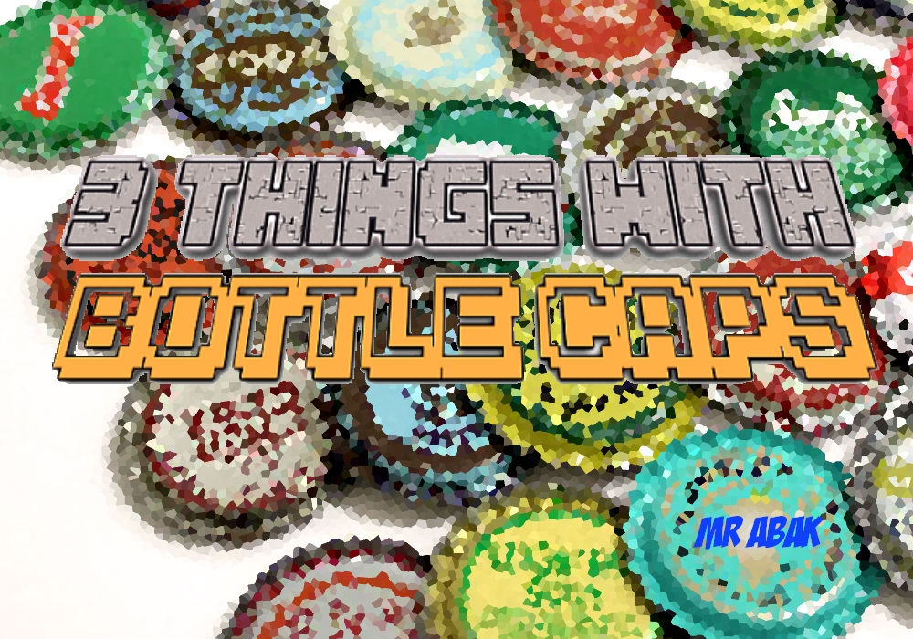 Picture of 3 Things to Make With Bottle Caps (Easy)