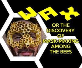 Honeycomb Mask (Paper Mache)