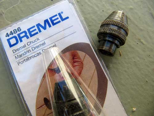 Picture of TIP: Dremel Chuck