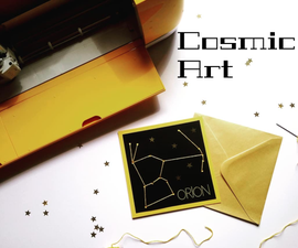 Cosmic Art- a Crafty Lesson About Space!