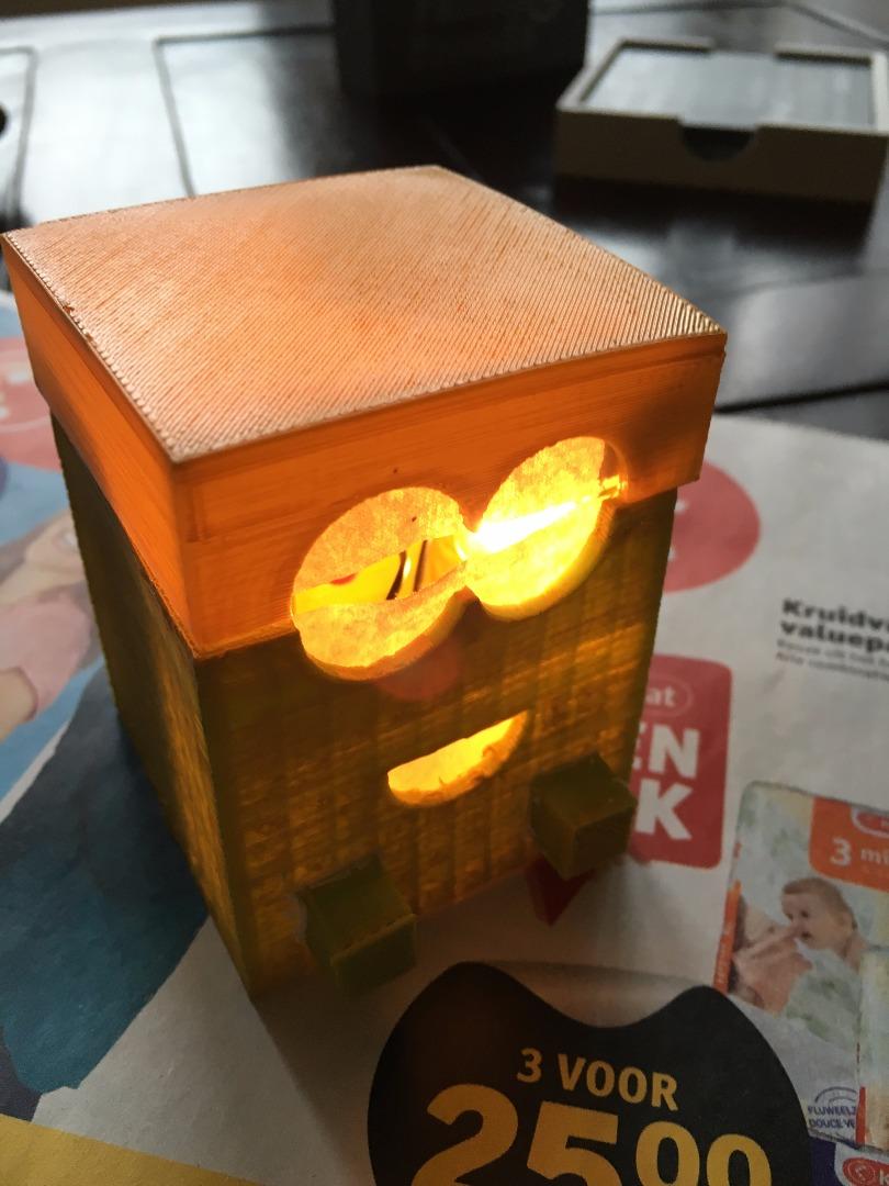 Picture of Minion Light Box (night Light)