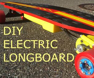 Electric Longboard   20mph   10 miles