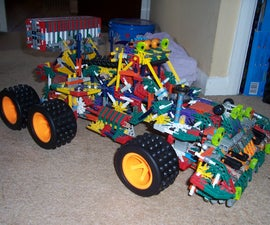 Huge Knex Monster Truck