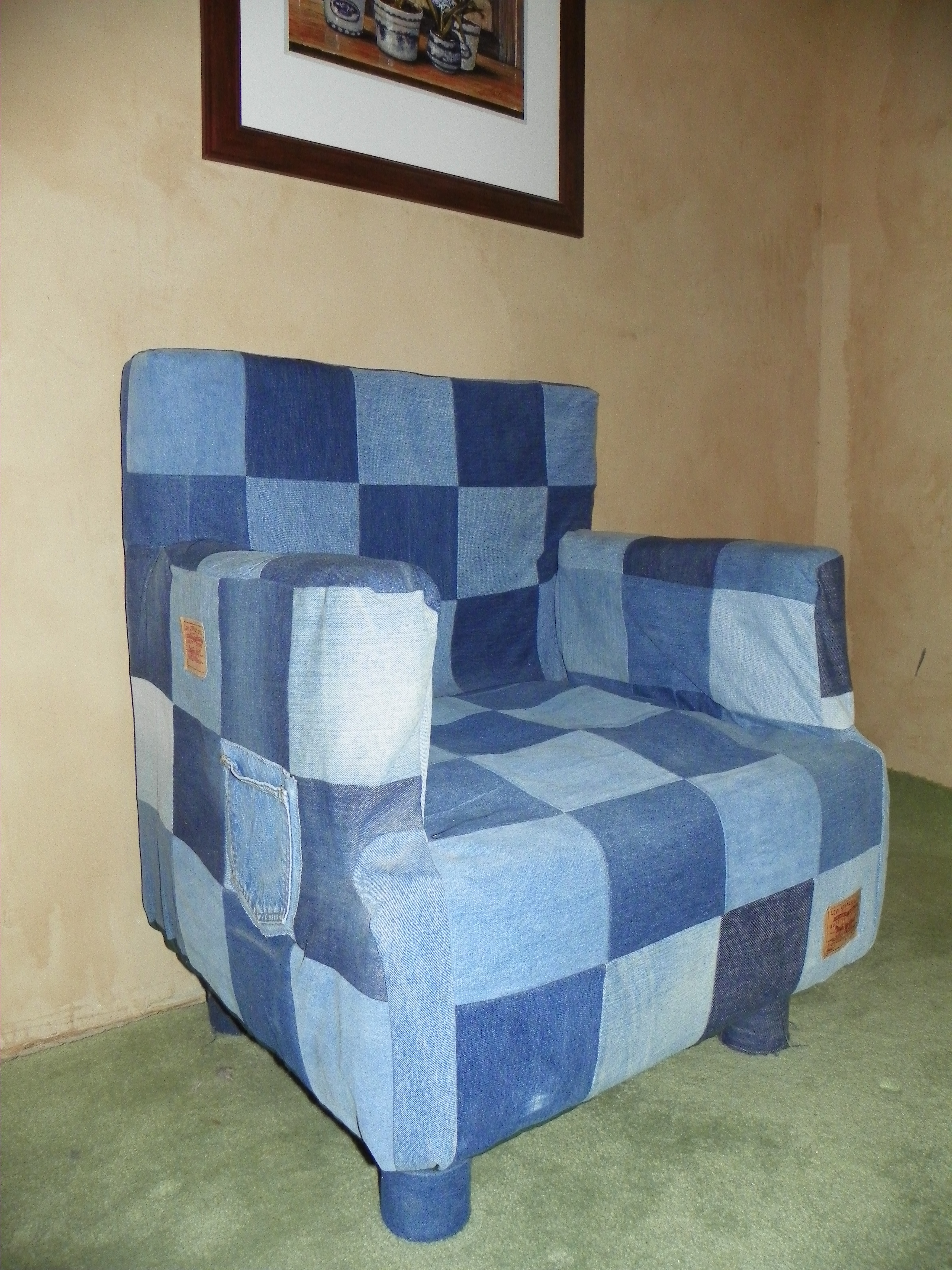 Picture of Can and Denim Chair