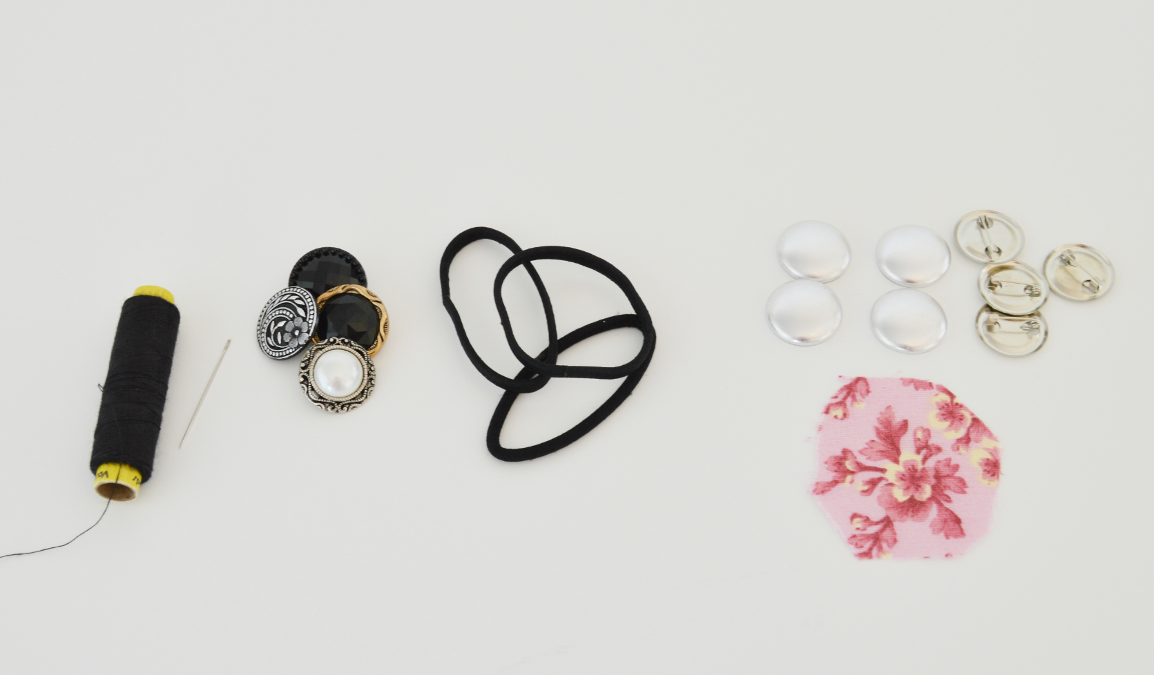 Picture of Hair Ties Makeover- 2 Ways