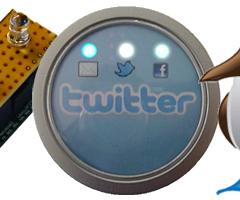 Lua USB twittier notifier