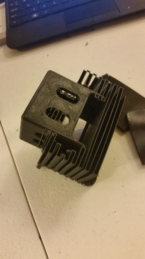 Picture of X-Y Motor Mounting