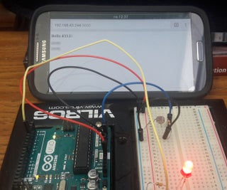 Controlling Arduino With Python Based Web API (No Php)