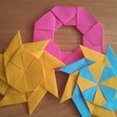 How to make a moving origami ninja star
