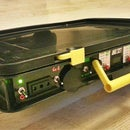 All in One Portable Solar Power Unit: 220V + 12V + 5V + Automatic Battery Charge! ;)