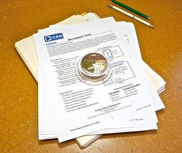 Electronic Paperweight