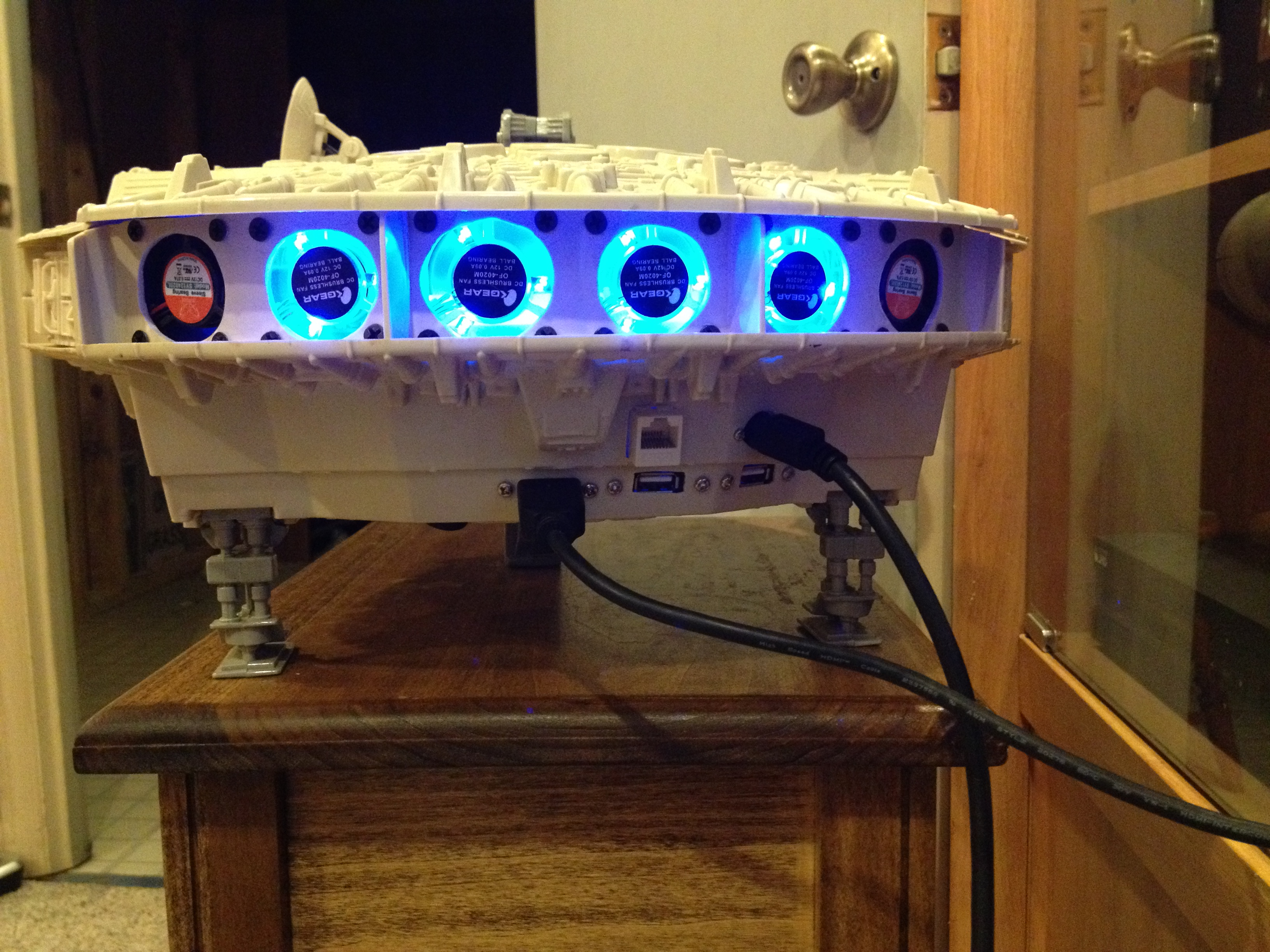 Picture of How to Turn a Millennium Falcon Into a PC!