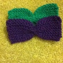 Knitted Hair Bows