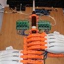Ardu McDuino: Bagpipe playing robot (chanter)