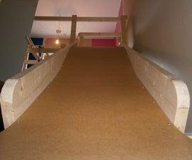 Make a indoor slide for kids