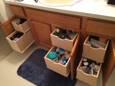 Slide the Drawers Into Place