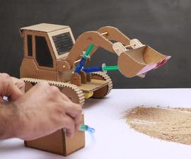Make JCB Bulldozer