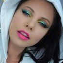 Summer Colours Makeup Look