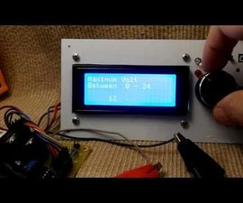 Variable Power Supply, Current Limiter, Amp Meter, Volt Meter, Inviot U1 Board, Arduino Compatible