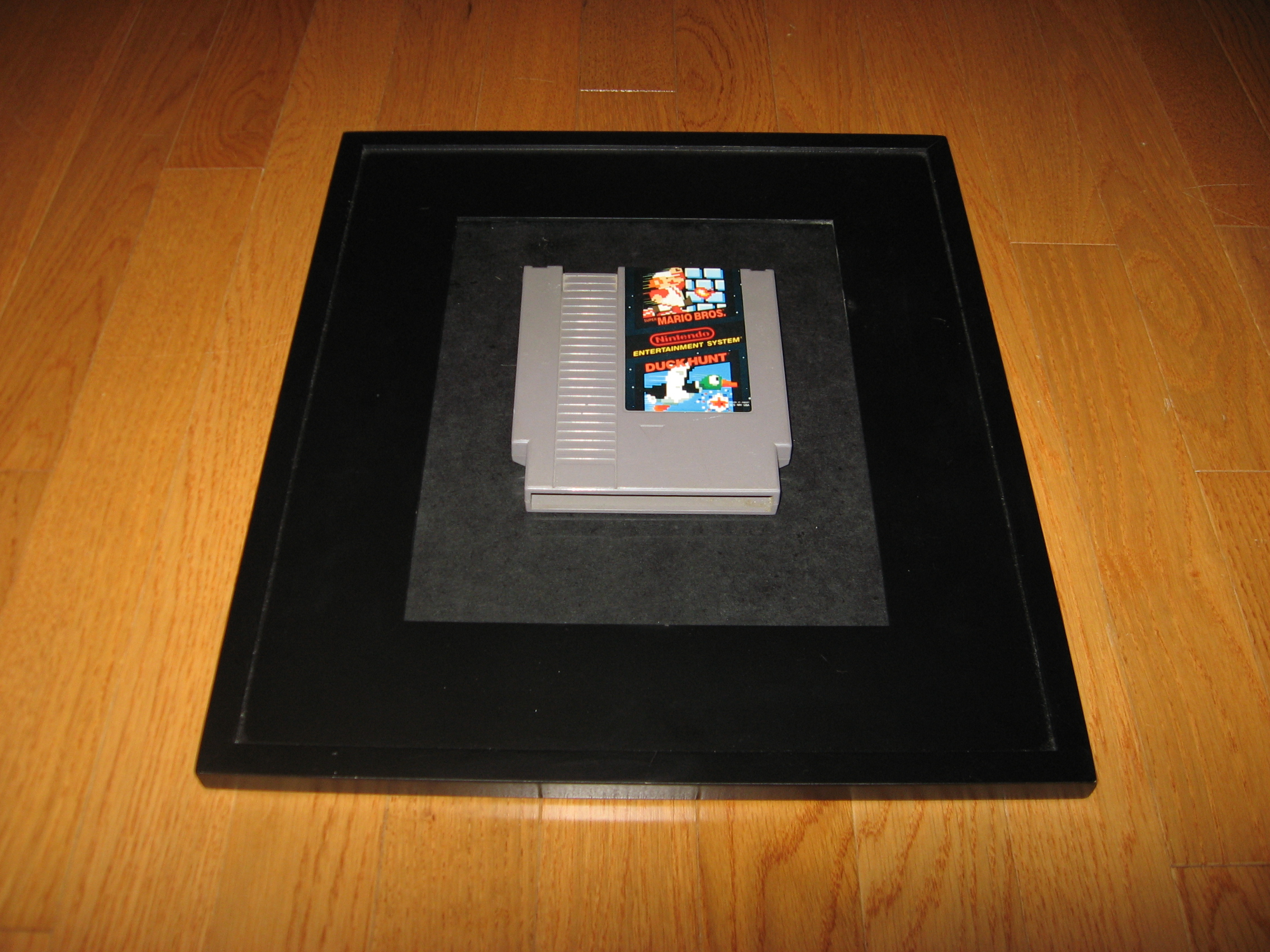 Picture of Framed NES Game