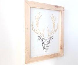 How to make a scandinavian frame