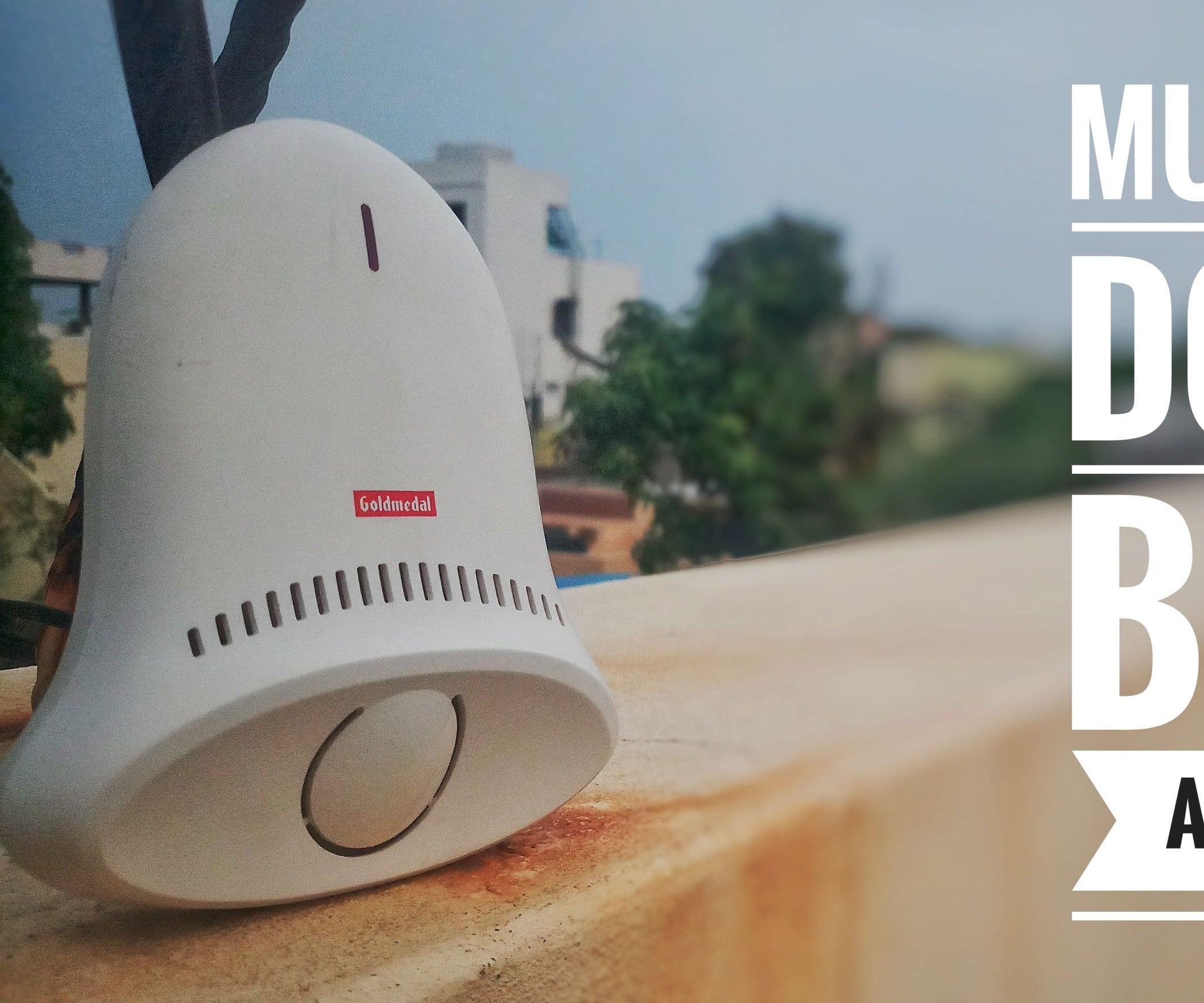Musical Doorbell At Home Using 555 Timer And Um66 Open Door Alarm Circuit