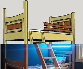 Modern Bunk Beds - Concept - Virtual Design - Fabrication