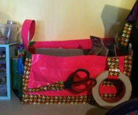 The Ultimate Crafter's Duct Tape Storage Box